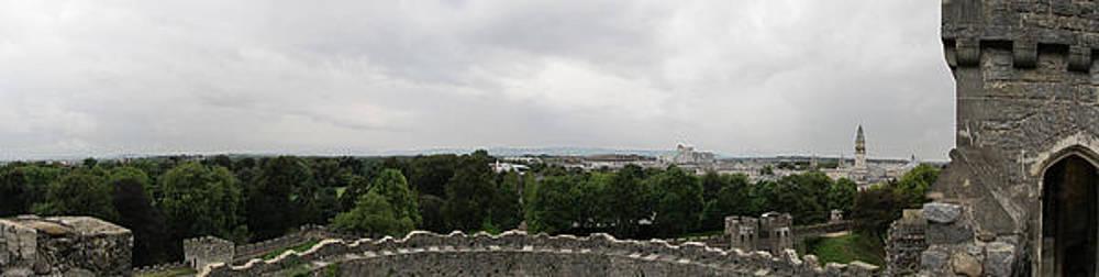 Cardiff Castle Panorama by Ian Kowalski