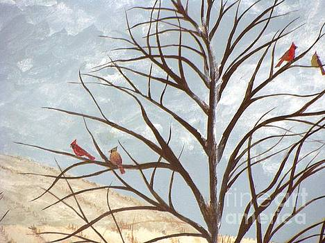 Cardinals 2 by Erin Mikels