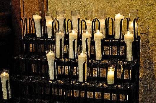 Cathedral Candles by Peter  McIntosh