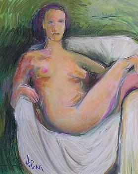 Chair Nude by Karen Kratzer