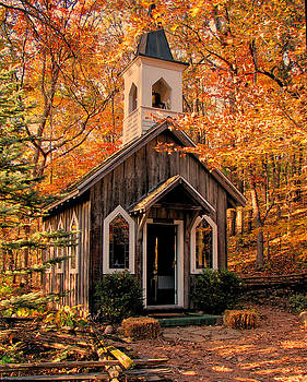 Chapel In The Woods by Victoria Sheldon