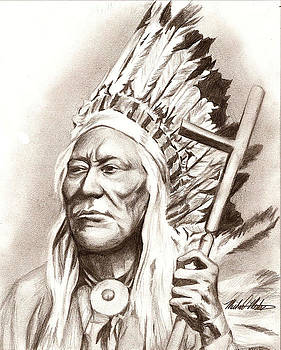 Chief Washakie by Michael Mestas