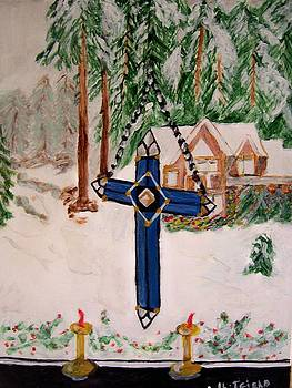 Christmas Cross by Ann Whitfield