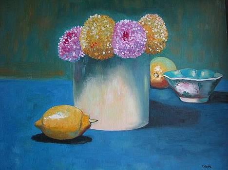 Chrysanthemums. by Meera Raman