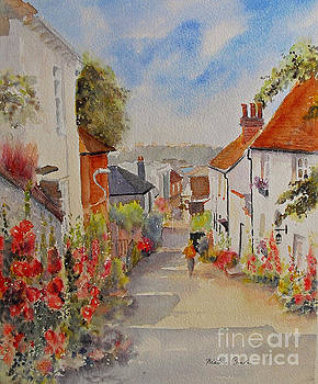 Church hill - Hythe- UK by Beatrice Cloake