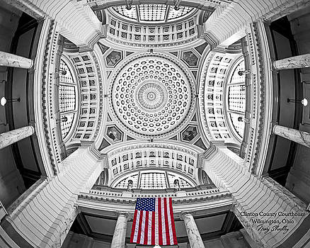 Clinton County Courthouse by Marj Shockley