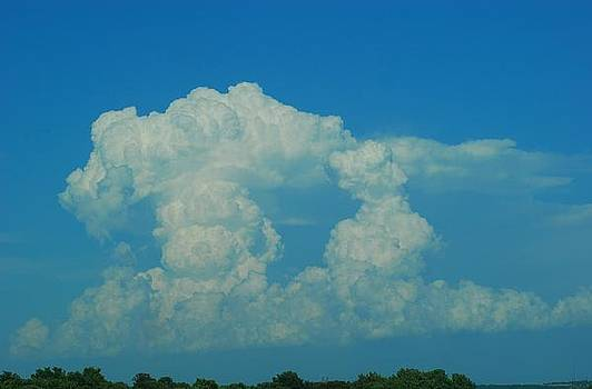 Clouds Forming over Missouri by Wanda Jesfield