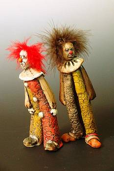 Clowns by Robin Power