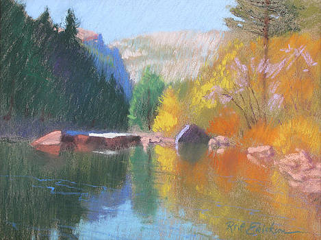Color on the River by Reif Erickson