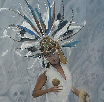 Conchera en trance 2 by Angel Ortiz