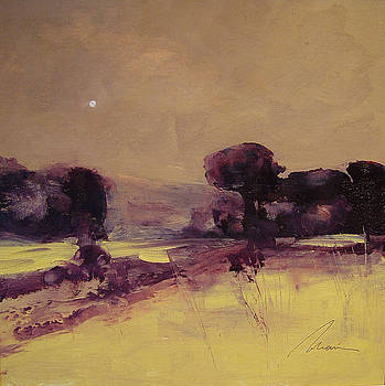 Cottonwood Moon by Richard Morin