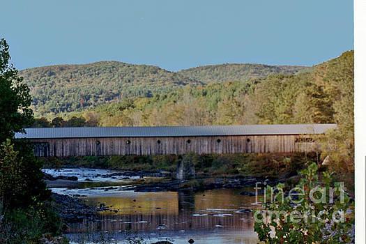 Covered Bridge by Kathy Bradley