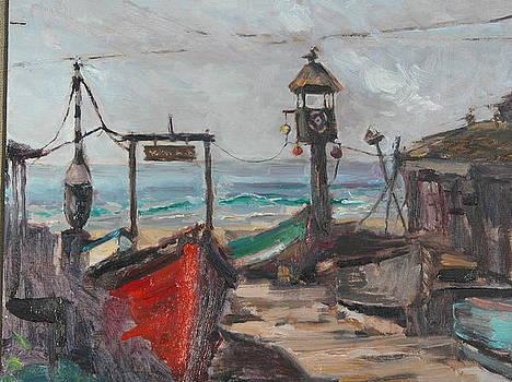 Crabby's Shack by Joyce Snyder
