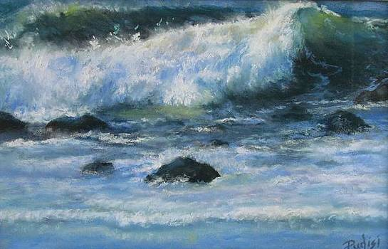 Crashing Wave by Bill Puglisi