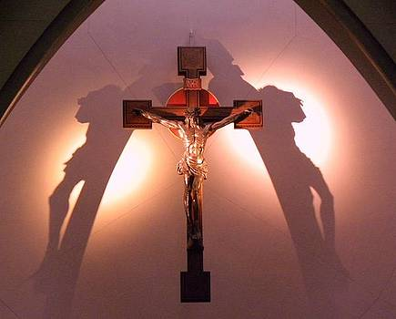 Crucified Jesus by Anna Baker