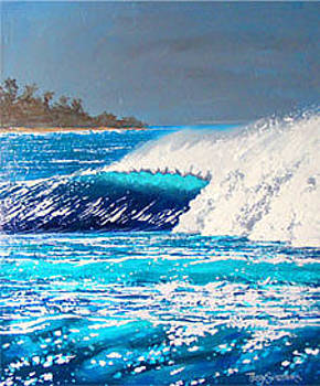 Crystal Blue by Trey Surtees