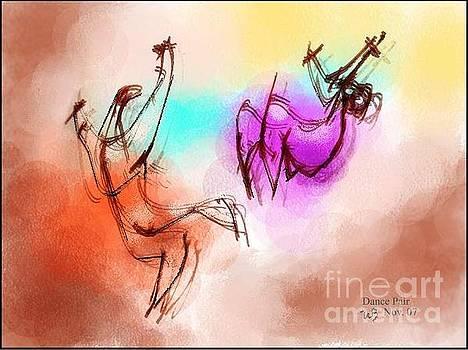 Dance pair 2 colorb by William Baumol