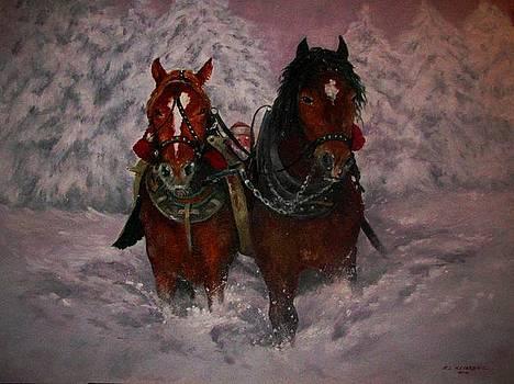 Dashing Through the Snow by Richard Klingbeil