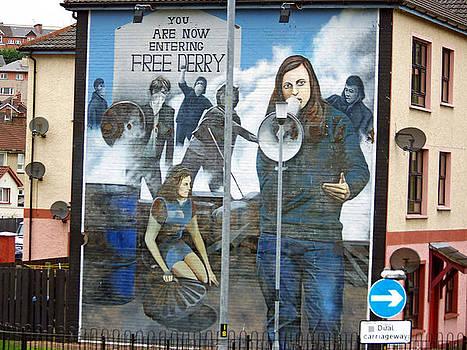 Derry Mural 2 by Maggie Cruser