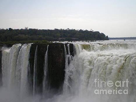 Devils Throat of Iguassu Falls by Paul Jessop