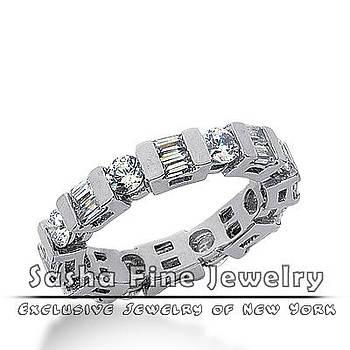 Diamond Eternity Wedding Band by Sasha Fine Jewelry