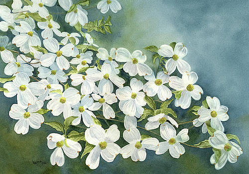 Dogwood in Bloom by Leona Jones