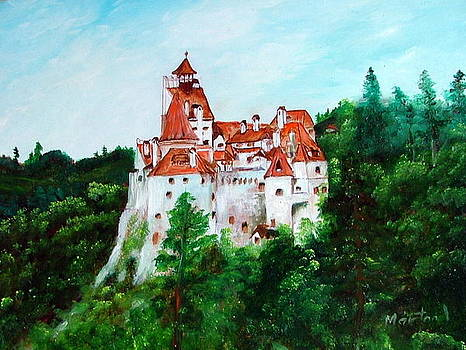 Dracula castle by Ibolya Marton
