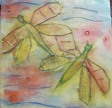 Dragonflys 1 by Jenell Richards