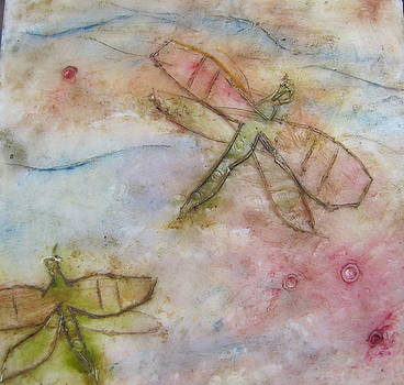 Dragonflys 2 by Jenell Richards