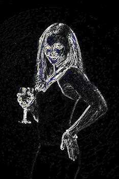 Drinkin and Sketchin by Tasha Starr