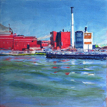 East River Power Plant by Peter Salwen