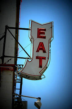 Eat Sign by Laura Tucker