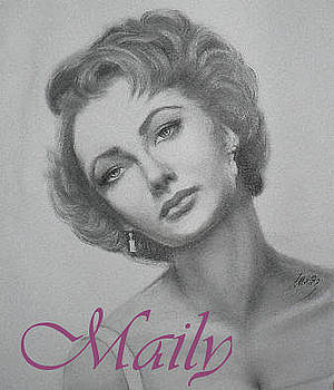 Elizabeth Taylor by Maily