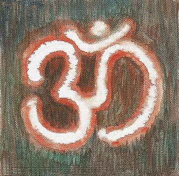 Energy Symbol Om Aum by Chintaman Rudra