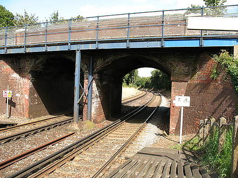 English Suburban Railway by Tony Payne