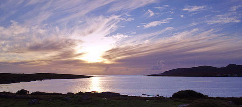 Evening at Trawenagh Bay by Steve Watson