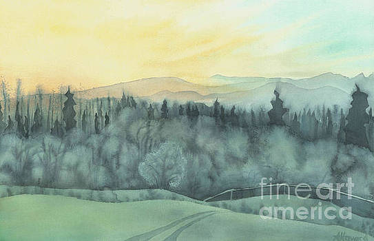 Evening Frost by Anne Havard