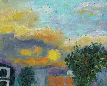 Evening Sky by Sylvia Riggs