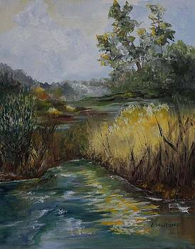 Fall Marsh by Lisa Graves