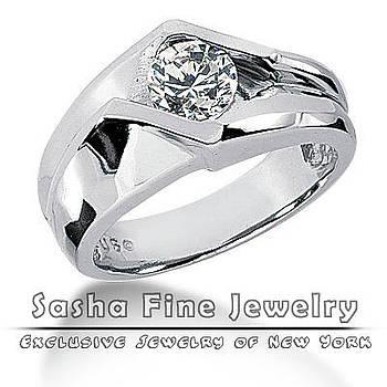 Fancy Diamond Ring by Sasha Fine Jewelry