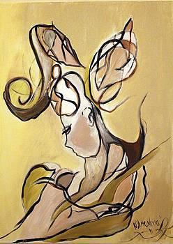 Fantasy In Gold by Nataliya Yutanova