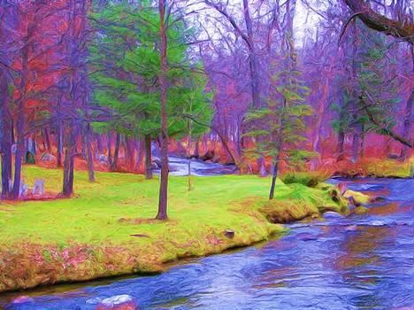 Fantiscy On The Pine River by Victoria Sheldon
