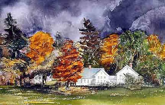 Farmer's Row Groton MA by Harding Bush