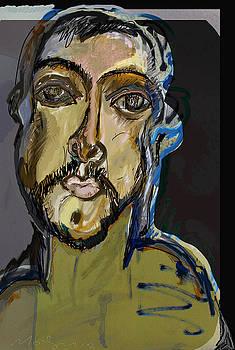 Fayum Mummy Portrait by Noredin Morgan