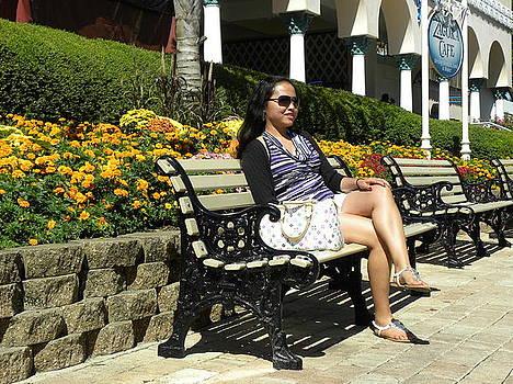 Filipina Lady by Anna Baker