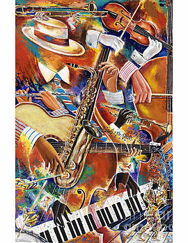 Fingertips of Talent by Frank Sowells Jr