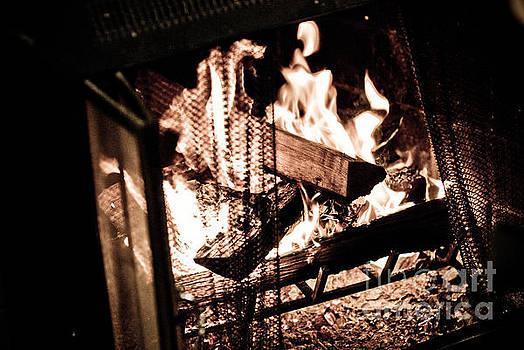 Fireplace by Eli Gray