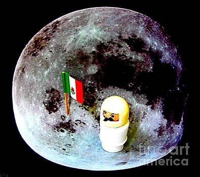 First Mexican Man on the Moon by Ricky Sencion