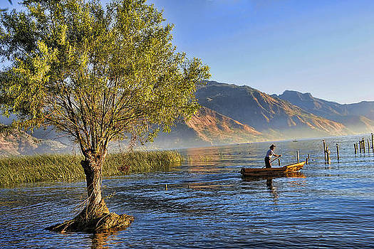 Fisherman at Dawn by Rianna Stackhouse