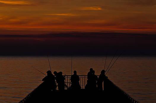 Fishing time by Daniel Kulinski